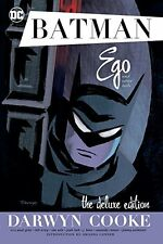 DC COMICS BATMAN EGO AND OTHER TAILS HC HARDCOVER DELUXE EDITION CATWOMAN COOKE