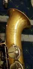S.M.L. Gold Medal Tenor Saxophone (Mk. 1 W/rolled Tone Holes) - Excellent