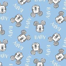 Disney Fabric  - Mickey Mouse - Oh Boy Nursery Toss - 100% Cotton