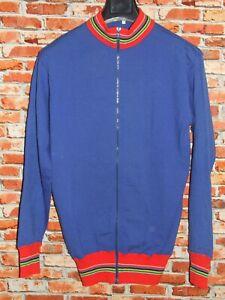 Shirt Bike Shirt Jacket Cycling Heroic Vintage 70'S 50% Wool