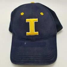 I Iowa Hawkeyes Top Of The World Hat Cap Black Fitted 7 1/4 Used Adult B4