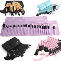 32Pcs Makeup Brushes Set Eyeshadow Concealer Lip Powder Blusher Cosmetics Tool