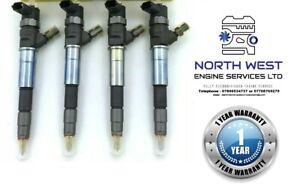 4 Reconditioned Diesel injectors Renault Trafic Bi Turbo R9M450/R9M452 1.6 Dci