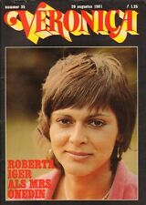 VERONICA 1981 nr. 35 - ROBERTA IGER / IDA LUPINO / ROCK-OPERA TOMMY / GLENN FORD
