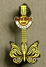 COZUMEL,Hard Rock Cafe Pin,Tattoo Butterfly Guitar