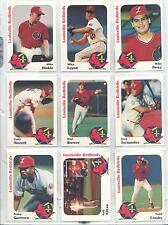 1991 Louisville Redbirds TI Todd Crosby Louisville Kentucky KY Baseball Card