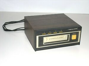 Realistic Stereo 8-Track Play Deck ~ Model 14-935A (TR-169) ~ Clean; Un-Tested