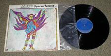 AQUARIUS REVISTED vinyl lp Byrds Shankar Electric Flag & others