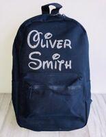 PERSONALISED CHILDREN'S RUCKSACK BAG, Baby Girl Boy CUTE School Nursery Bag GIFT