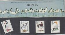 GB 1989 BIRDS RSPB PRESENTATION PACK 196 SG 1419 1422 MINT STAMP SET