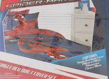 Marvel Amazing Spider-Man Single Bed Quilt/Comforter Cover Set NWT FREE SHIPPING