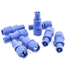 10x PowerCon AC Cable End Blue Power In Plug / Mates W/ Neutrik Powercon