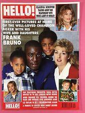 HELLO! - #243 Mar 6 1993 - Frank Bruno - Claudia Schiffer - Bobby Moore