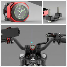 Motorcycle Modified Luminous Clock Time Gauge Cool Styling Waterproof CNN Craft