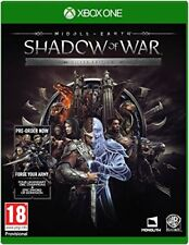 Middle Earth: Shadow Of War - Silver Edition (XBOX ONE) BRAND NEW SEALED