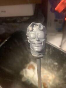 "Mego FTC Zica Custom Avengers 80's Wonderman Head 8"" Figure Size 1/9"