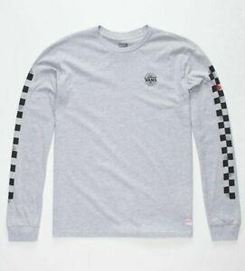 VANS x Marvel Spider-Man Boys Grey/Black Long Sleeve T-Shirt ( VN0A3HUBATH) XL