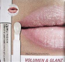 Avon Mark Plump It Volumen-Lipgloss plumping pearl farblos mit Glitter NEU