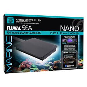 NEW Fluval Sea Marine Nano Bluetooth LED 20W