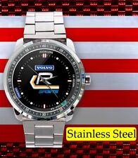 VOLVO R SPORT SWEDEN CAR PERFORMANCE LOGO New Custom Stainless Steel Men's Watch