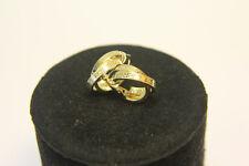 DESIGNER Creolen Ohrringe 585 14 Karat ECHT Gold NEUWERTIG LUXUS GELBGOLD