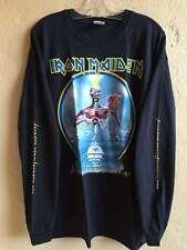 Iron maiden Long sleeve XL shirt Heavy metal Helloween Saxon Judas priest Dio