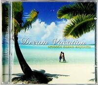 DREAM VACATION MUSIC CD, ISLAND RHYTHMS, RELAXING SOUNDS, Paradise New & Sealed