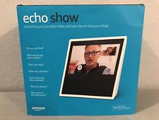 Amazon Echo Show 1st Generation Smart Assistant Display Speaker-White-Alexa