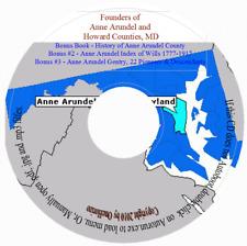 Anne Arundel & Howard County Founders - MD Genealogy