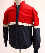 OVERSIZE 80's VINTAGE STANFORD SPORTS TRACK TRAINING NYLON SHELL JACKET TOP S-M