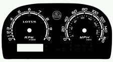Lotus Elise & Exige Custom Gauge Face dials in Lotus S1 style (Fits: Lotus Elise)