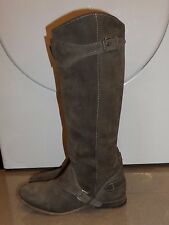 DESIGNER All Saints Hannover REAL LEATHER KNEE HIGH WINTER BOOTS SIZE 3