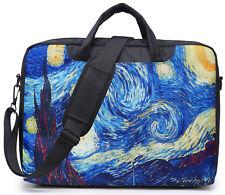 "17"" Inch Canvas Laptop Computer Bag Briefcase bag With Shoulder Strap  3009"