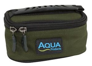 Aqua Products Black Series Lead and Leader Pouch NEW Carp Fishing Luggage