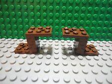 Lego 2 Brown 5x2 bracket