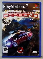 NEED FOR SPEED CARBONO - PLAYSTATION 2 - PAL ESPAÑA - COMPLETO