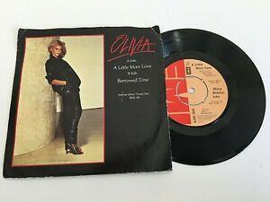 "Olivia Newton John - A Little More Time - 7"" Vinyl Single"