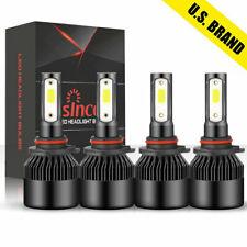 90059006 Combo Led Headlight 240w 30800lm Highlow Beam 6000k White 4 Bulbs Kit