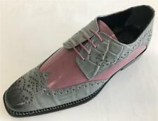 New Men's Liberty Leather Two Tone Croco Print Wing Tip Oxford Dress Shoes L1100