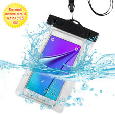 Universal Waterproof Bag Underwater Dry Phone Pouch Case Cover Lanyard Armband