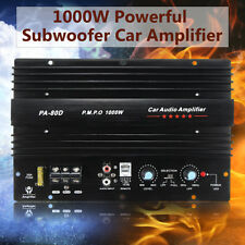 12V 1000W Mono Car Audio Power Amplifier Powerful Bass Board Subwoofers Amp