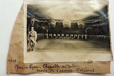 PHOTO PRESSE BRANGER GARE DE LYON 1922 CHAPELLE ARDENTE MORTS ARMEE D'ORIENT