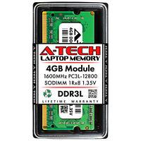 4GB DDR3/DDR3L PC3L-12800 1600MHz SODIMM (DELL A7515504 Equivalent) Memory RAM