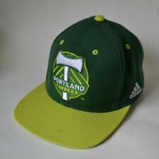 Adidas MLS Portland Timbers Soccer Authentic Team Snapback Fit Hat Green