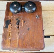 "Antg Kellogg Switch Board Supply Co, Chicago Switchboard-Solid Oak ""As Is"" 1920!"