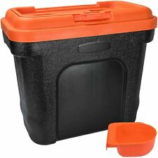 NEW 19 LITRE 8KG ANIMAL PET FOOD STORAGE BOX CONTAINER SEED BIN CAT DOG DRY