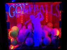 Custom Led Illuminated Vintage 19th Hole Golf Ball Vending Machine
