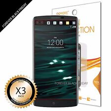 LG V10 Screen Protector 3x Anti-Scratch HD Clear Cover Guard
