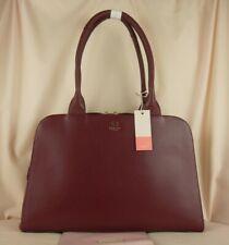 Radley Millbank Burgundy Red Leather Shoulder Bag Work Bag Large New RRP 219
