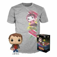 Back To The Future Marty McFly POP! Figure & Tee Box Funko Exclusive & T-shirt